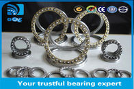 51207 Steel Cage Thrust Ball Bearings , One Way Ball Bearing Iso9001 Certification