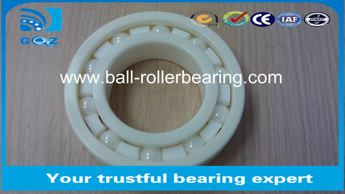 6007CE Deep Groove Ceramic Ball Bearings ISO9001 Certification 35 X 62 X 14 mm