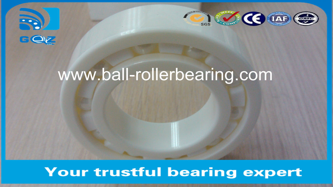 Professional Full Ceramic Skate Bearings , High Speed Ceramic Bearings 6008CE