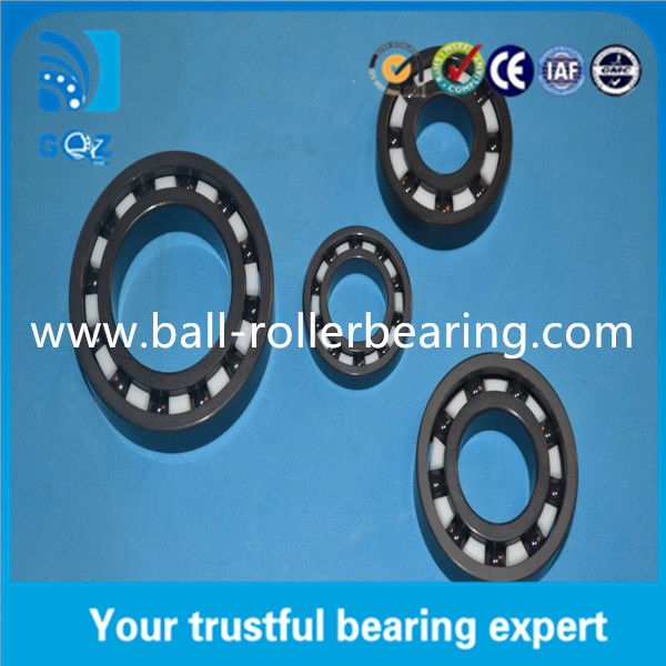 Chrome Steel Ceramic Engine Bearings For Mining Machinery / Precision Instruments
