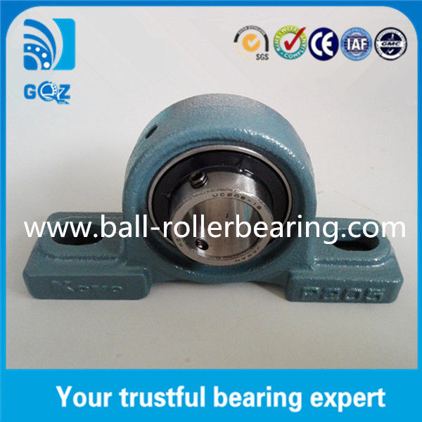 "2 Bolt Pillow Block Ball Bearings 25.4mm Koyo UCP205-16 With 1"" Bolt Hole"