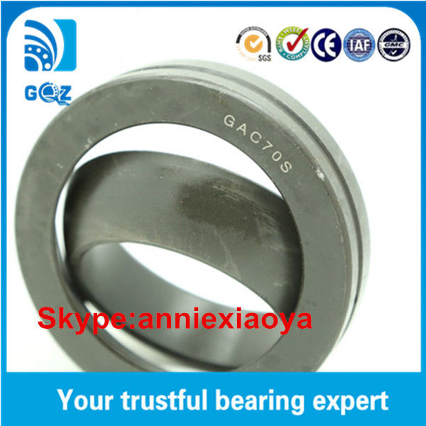 GAC..S / GE..SX 70*110*25 mm Excavator Spherical Plain Thrust Bearing GAC70S Rod End Bearing