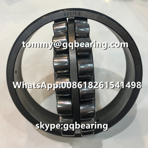 Heavy Radial Load Reinforced E type Cage Spherical Roller Bearing 22211E Bearing Factory