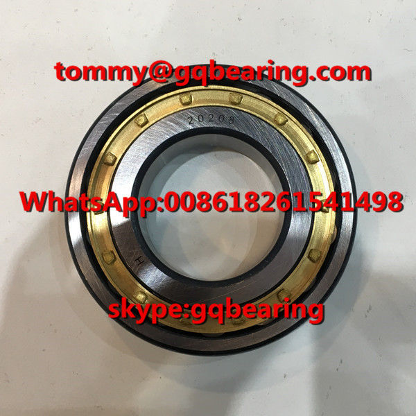 Brass Material Cage 20208M 20208MB Single Row Spherical Roller Bearing