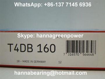 Tipo fino rodamiento de rodillos de la forma cónica de la carga pesada de T4DB160 160x220x32m m