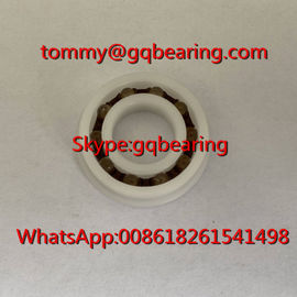 China POM Plastic Material F6901 Flanged Plastic Ball Bearing 12x24x6mm fábrica